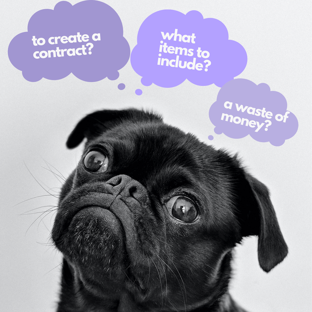 Pros and cons of dog walking agreement