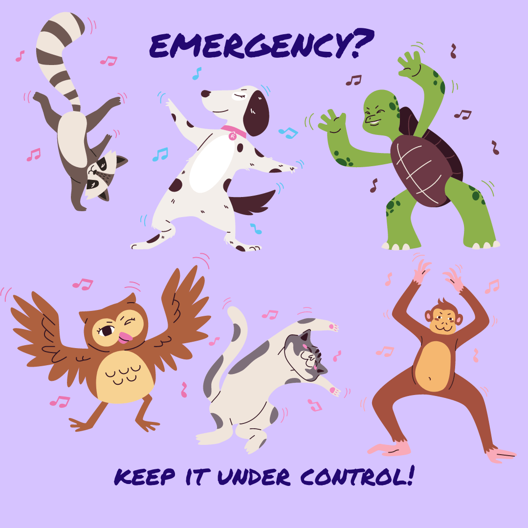 Actions in case of emergency